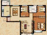 恒大翡翠华庭_3室2厅1卫 建面114平米