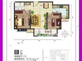 中房馨美域_2室2厅1卫 建面86平米