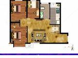 尚都后鸟巢_3室1厅1卫 建面81平米