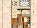 中泽纯境_3室2厅1卫 建面124平米