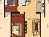 荣兴天顺_2室2厅1卫 建面87平米