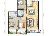 坤杰拉菲公馆_3室2厅2卫 建面160平米