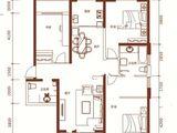 朝阳华府_3室2厅2卫 建面143平米