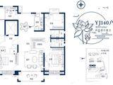 碧桂园西湖_4室2厅2卫 建面140平米