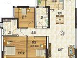 韶关恒大城_3室2厅2卫 建面114平米