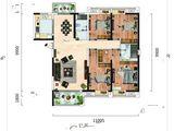 中建铂公馆_4室2厅2卫 建面162平米