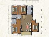 世家景城_4室2厅2卫 建面140平米