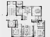 元垄镜庐_3室2厅2卫 建面107平米