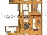 万国城moma_moma城A户型(售完) 建面301平米