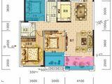 长旭时光印象_4室2厅2卫 建面111平米