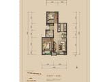 金龙和玺_2室2厅1卫 建面72平米